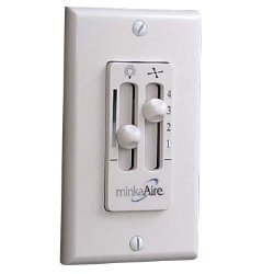 Wall Mount Wired Fan & Light Control WC106 by Minka Aire