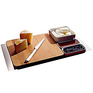 Programma 8 Chopping Board & Cheese Set by Alessi