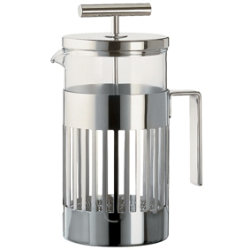 Aldo Rossi 8 Cup French Press by Alessi