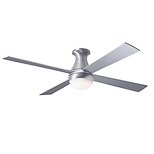 Ball Hugger Ceiling Fan with Optional Light by Modern Fan Company