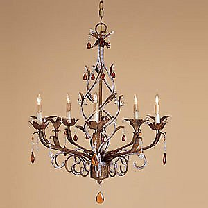 Isabella Crystal Chandelier by Currey and Company