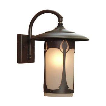 Bungalow Outdoor Wall Lantern