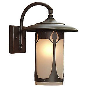 Bungalow Outdoor Wall Lantern by Johnson Art Studio