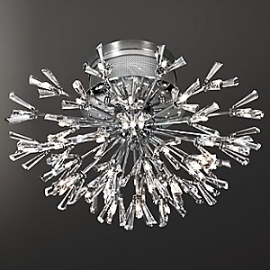 Lenka 43-Light Crystal Flushmount by Eurofase