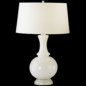 Harriet Glass Table Lamp by Robert Abbey