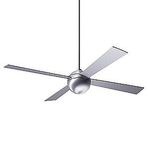 Ball Ceiling Fan with Optional Light by Modern Fan Company