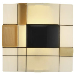 Appliquations Mondrian Clip Wall Sconce by Oggetti Luce
