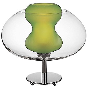Soft Glass Table Lamp by George Kovacs