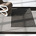 Bamboo Plynyl Floor Mat by Chilewich