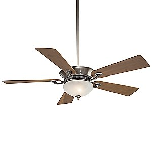 Delano Ceiling Fan with Intergrated Light by Minka Aire