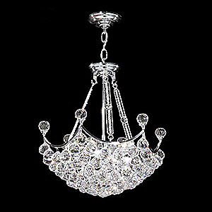 Jacqueline Small Chandelier Bowl by James R Moder