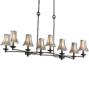 Charlestowne 8-Lt. Chandelier by Kalco Lighting