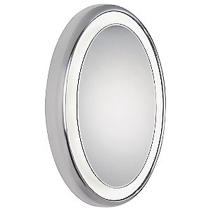 Tigris Recessed Oval Mirror by Tech Lighting at Lumens.