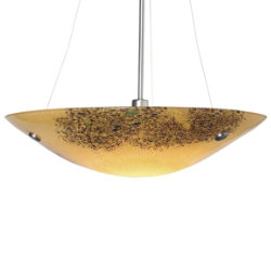 Veneto Grande Suspension Bowl by LBL Lighting