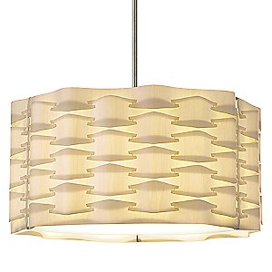 Basket Drum Pendant by Dform