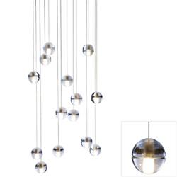 14 Series Fourteen LED Pendant Chandelier