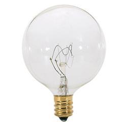 25W 120V G16 1/2 E12 Clear Bulb