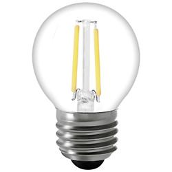 2W 120V E26 G16 1/2 LED Filament Clear Bulb