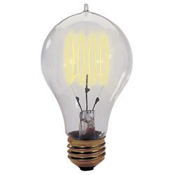 40W 120V A23 E26 Quad Loop Edison Bulb