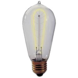 40W 120V ST18 E26 Hairpin Edison Bulb