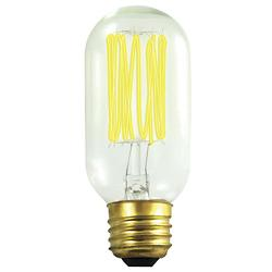 40W 120V T14 E26 Antique Thread Edison Bulb 2-Pack