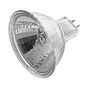 50W 12V MR16 GU5.3 Eurostar Halogen Clear NFL Bulb