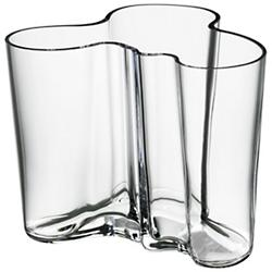 Aalto Vase (Clear/4.75 inch) - OPEN BOX RETURN