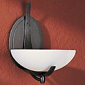 Aegis Oval Wall Sconce with Glass Options