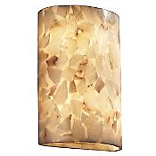 Alabaster Rocks! Cylinder Wall Sconce