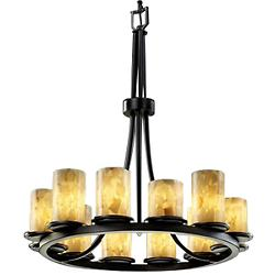 Alabaster Rocks! Dakota 12-Light Ring Chandelier