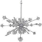 Allegri Constellation 46 Light Pendant