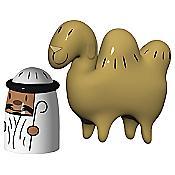 Amir & Camelus Set of 2 Figurines