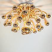 Anemone Flushmount/Wall Light (Brass/Small) - OPEN BOX