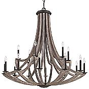 Arcata 2-Tier Chandelier
