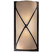 Aspen II Wall Sconce (Bronze/Scavo/Lg) - OPEN BOX RETURN