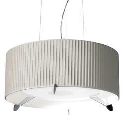 Aura Pleated Drum Pendant