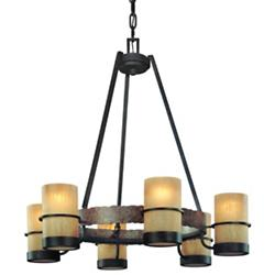 Bamboo 6-Light Chandelier