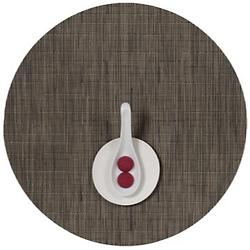 Bamboo Round Tablemat (Charcoal) - OPEN BOX RETURN