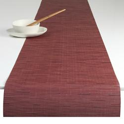 Bamboo Table Runner (Cranberry) - OPEN BOX RETURN