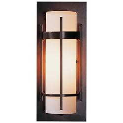 Banded Aluminum Outdoor Sconce - ADA
