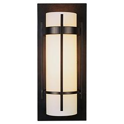 Banded Wall Sconce With Bars