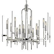 Bari Chandelier (Nickel/16 Lights) - OPEN BOX RETURN