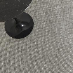 Basketweave Plynyl Floor Mat (Oyster/46 x 72) - OPEN BOX