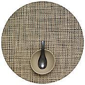 Basketweave Round Tablemat