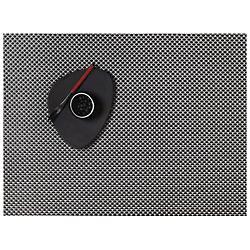Basketweave Tablemat (Titanium) - OPEN BOX RETURN