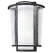 Bennington Outdoor Wall Sconce (Opal/Bronze) - OPEN BOX