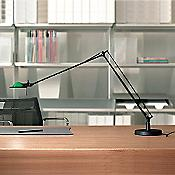 Berenice Small Table Task Lamp (Green/Black) - OPEN BOX