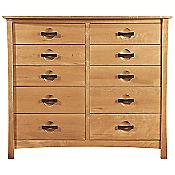 Berkeley 10 Drawer Dresser