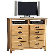 Berkeley 8 Drawer Dresser and TV Organizers