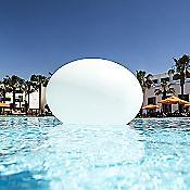 Big Flatball LED Indoor/Outdoor Lamp